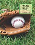 2020-2021 2 Year Planner Baseball Game Monthly Calendar Goals Agenda Schedule Organizer: 24 Months Calendar; Appointment Diary Journal With Address ... Notes, Julian Dates & Inspirational Quotes