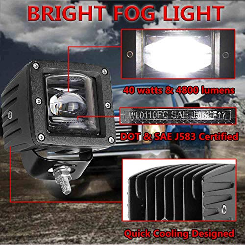 Universal led foglights