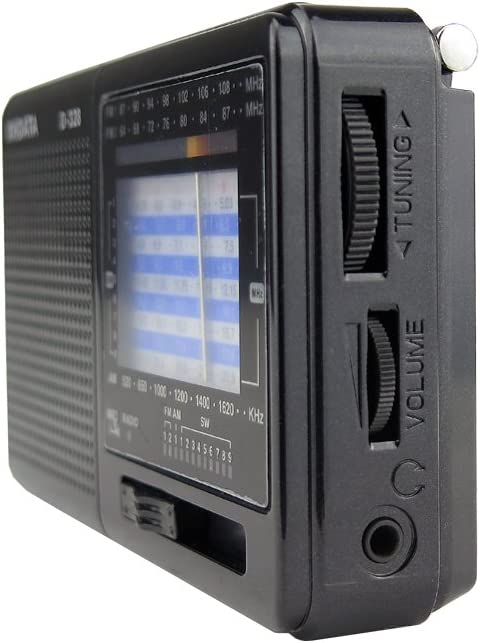 D-328 XHDATA D-328 Soporte de Radio port/átil Tarjeta TF FM Am SW Receptor Mundial multibanda