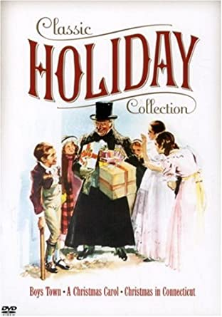 Christmas In Connecticut Movie.Amazon Com Warner Bros Classic Holiday Collection Boys
