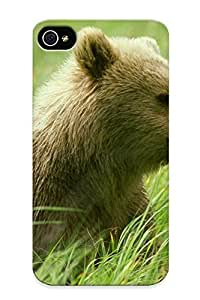 Blackducks For Apple Iphone 4/4S Case Cover Well-designed Hard Nature Animals Bears Baby Animals Protector For New Year's Gift