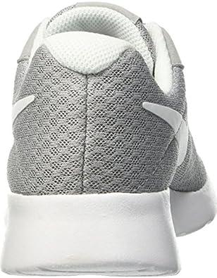 Amazon.com | Nike Womens Tanjun Running Sneaker Wolf Grey/White 8.5 | Fashion Sneakers