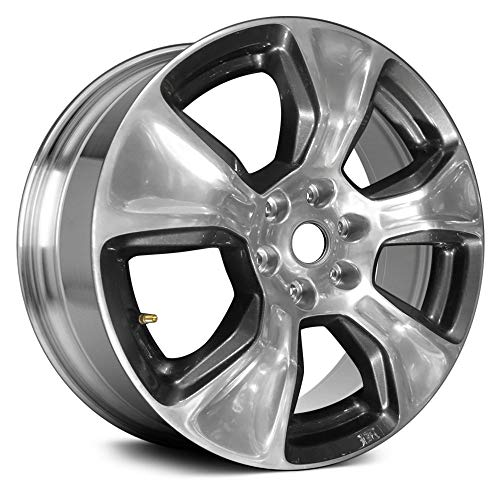 Partsynergy Replacement For OEM Take-Off Aluminum Alloy Wheel Rim 20 Inch Fits 2019-2019 Dodge Ram 1500 6-139.7mm 5 Spokes