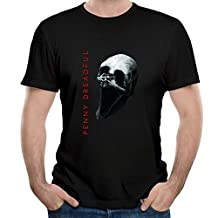 Gody Men's Penny Dreadful Tv Show Review Trailer Movie O-neck T Shirts Black S