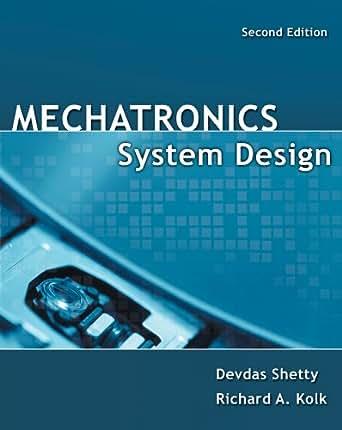 Mechatronics system design devdas shetty