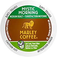 Marley Coffee Single Serve Coffee Capsules, Mystic Morning, 100% Arabica Coffee...