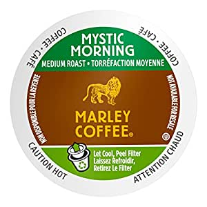Mother Parkers Marley Coffee Mystic Morning Real Cup