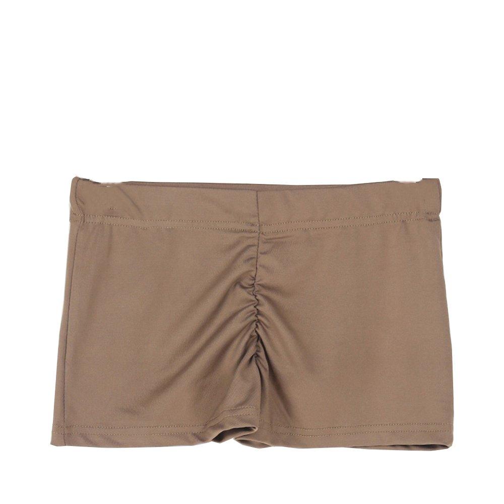 270de00edb laamei Short de Yoga Danse Boxer de Sport Shorty Pantalon Court ...