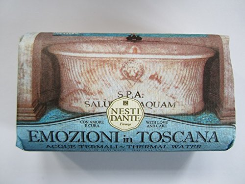 8.8 Ounce Soap (Nesti Dante Emozioni In Toscana Natural Soap, Thermal Water, 8.8 Ounce)