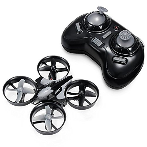 Drone, H36 Mini Drone 2.4G 4CH 6Axis Gyro Headless Mode Remote Control RC Quadcopter RTF One-key Return Eway Drone (gray 01)