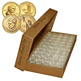 25 Direct Fit Airtight 26mm Coin Holders Capsules For PRESIDENTIAL $1 /SACAGAWEA by Merrick Mint