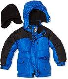 Rothschild Little Boys' Boy Two Tone Puffer Jacket