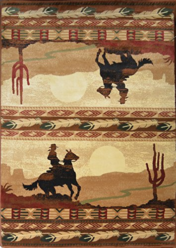Wildlife Collection Western Rustic Lodge Ride 'Em Cowboy