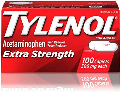 Tylenol Extra Strength Caplets Count product image