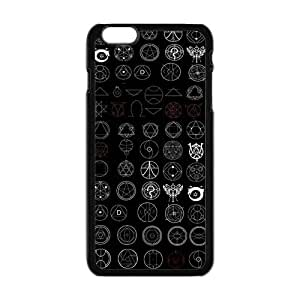 ROBIN YAM- FullMetal Alchemist Anime Manga Hard Protective TPU Rubber Cell Phone Cover Case Compatible with iPhone 6 -DRY1796
