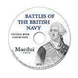 Battles of the British Navy 1852 – 2 Vintage e-Books Collection on 1 DATA DVD, Old books on disc