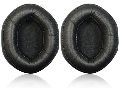 ITIS Replacement XL Memory Earpad Ear Pad Cushions For V-MODA Crossfade Wireless, M-100, LP, LP2 Vocal Over-Ear Headphones