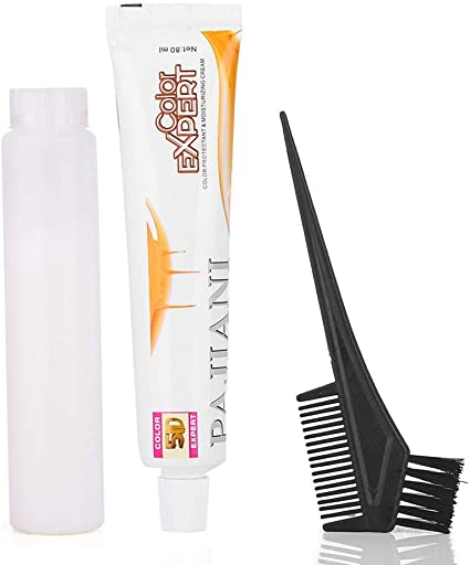 La decoloración y el tinte para el cabello, hacen que su herramienta de decoloración vibrante para el cabello sea fácil de teñir sin irritar
