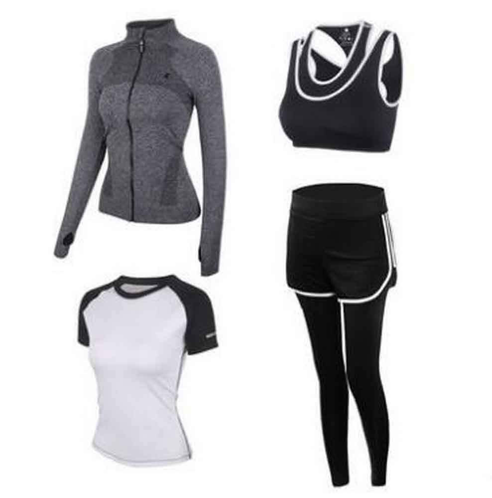 Sport Suit for Women Quick Drying Clothing for Ladies Yoga Clothing [G]