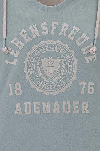 sudadera co capucha Adenauer verde con Kapuzenschwester Co A Claire ETYqqA7w