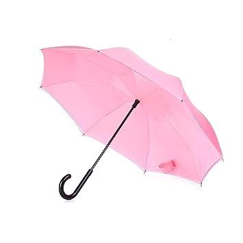 FXS Paraguas inversa | Paraguas al aire libre | Paraguas | Paraguas reversible semiautomático | Reflex