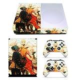 xbox one skins for console naruto - EBTY-Dreams Inc. - Microsoft Xbox One Slim - Naruto Gaiden Anime Team 7 Uchiha Sasuke Haruno Sakura Vinyl Skin Sticker Decal Protector