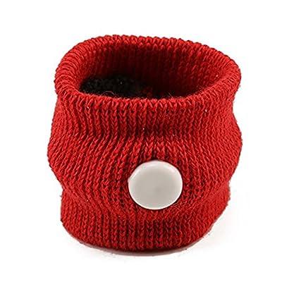 Yter anti nausées Matin maladie Motion Voyage Bracelets de voiture Mer Avion (Rouge)
