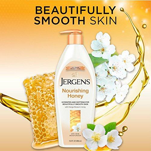 Jergens Nourishing Honey Skin Moisturizer, Ounces