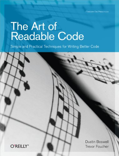 The art of readable code simple and practical techniques for the art of readable code simple and practical techniques for writing better code by fandeluxe Choice Image