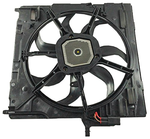 Price comparison product image TOPAZ 17427598740 Radiator Cooling Fan Assembly for BMW E70 X5
