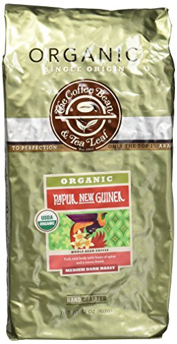 The Coffee Bean & Tea Leaf Organic Papua New Guinea Coffee, 2 Pound