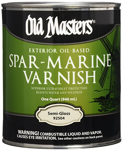 OLD MASTERS 92504 Spar Marine Varnish