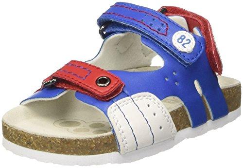Chicco Helio, Sandalias para Bebés Multicolor (Royal Blue)