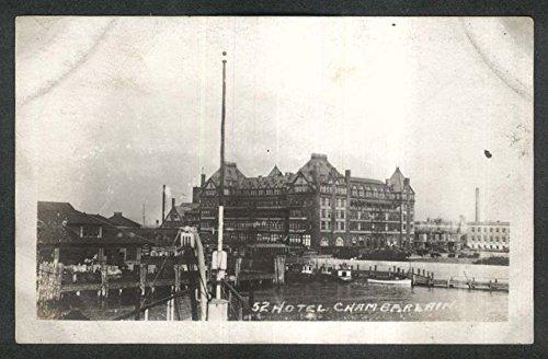Hotel Chamberlain VA RPPC postcard 1920s