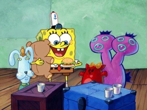 Skill Crane (Spongebob Stuffed Animals)