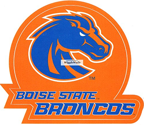 3 Inch Duster Bronco BSU Broncos Boise State University Logo Removable Wall Decal Sticker Art NCAA Home Room Decor 3 1/2 by 3 Inches