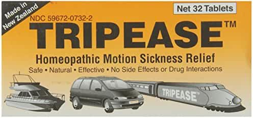 Trip Ease homeopathic motion sickness remedy, 32 Count