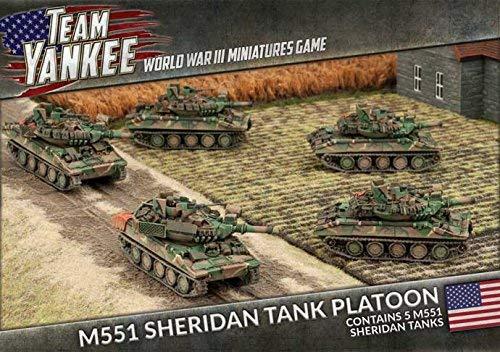 Team Yankee: United States: M551 Sheridan Platoon