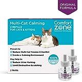 Comfort Zone BASIC Multicat Refills for Cat Calming, 2 Pack