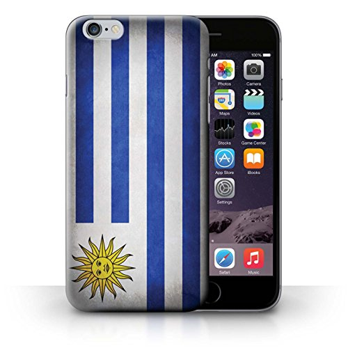 Hülle Case für iPhone 6+/Plus 5.5 / Uruguay/Uruguayischen Entwurf / Flagge Collection