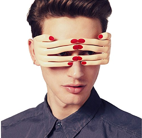 LB-Funny Finger Shaped Halloween Mask Decoration Party Costume Favors Adults Photo Booth Props Glasses (red - Amazon Sunglasses Zungle