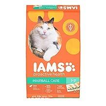 Iams Proactive Health Adult Hairball Care Premium Dry Cat Food, 7.26 kg