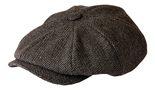 Gunn By 'shelby' Herringbone Gris Gamble And Grey Casquette nwqURq0Fz