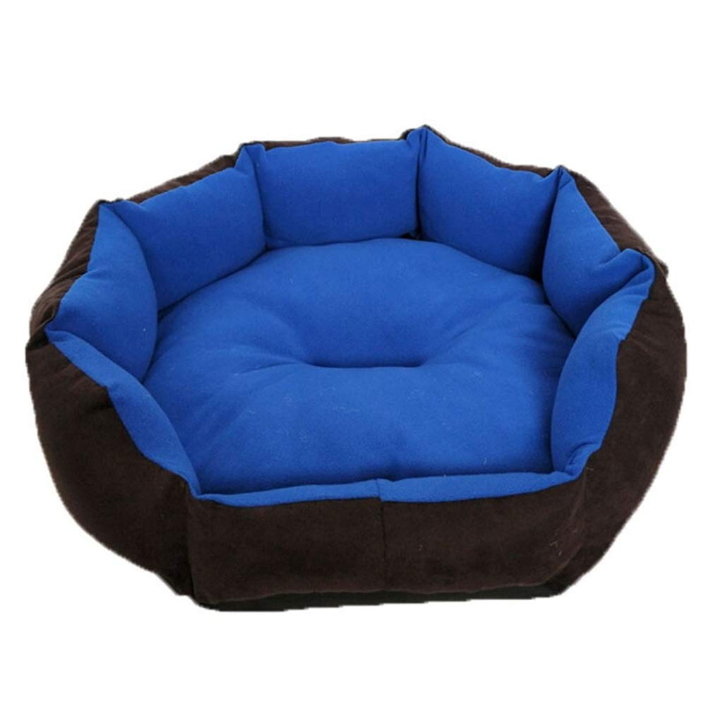 C Xiao Jian Pet Nest Dog Mats Autumn and Winter Small and Medium Dogs Kennel Cat Litter Removable and Washable Bite Teddy Kennel Four Seasons Universal Pet Nest (Detachable Inner Cushion) pet Bed