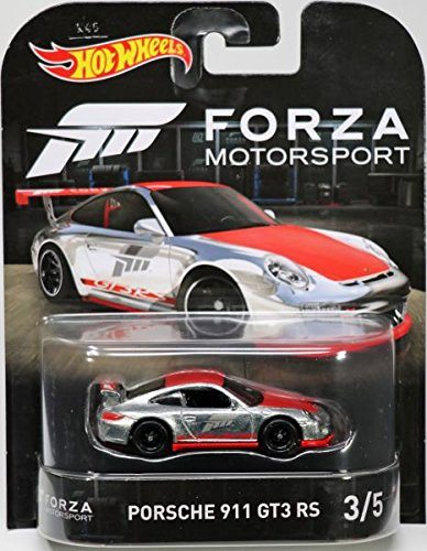 Hot Wheels Porsche 911 GT3RS Vehicle, 1:64 (Porsche Racing Wheel)