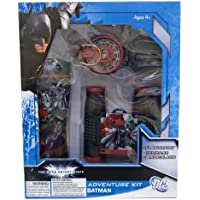 DC comics Batman 3PC Mission Kit - Black (26383)