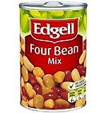 Edgells Four Bean Mix Can Food 420 g, 420 g