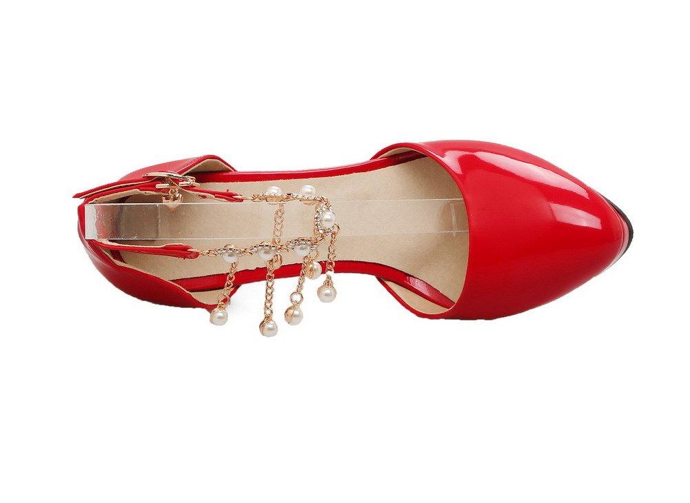 messieurs et mesdames voguezone009 cuir de femmes boucle de cuir solides sandales bouts fermés du nouveau marché vw15883 matières de la plus haute qualité de vie facile 232c41
