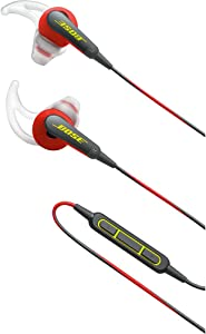Bose SoundSport In-Ear Headphones w/Mic (Apple) (Red)