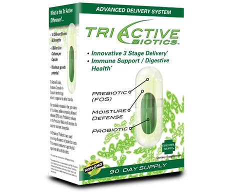 - Triactive Biotics Supplement For Immune And Digestive Health 100% Non-GMO 90 Day Supply